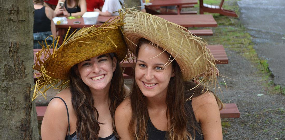 Happy People at Camp Lee Mar