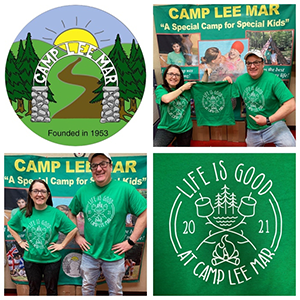 Camp Lee Mar Camp T-Shirt for Campers